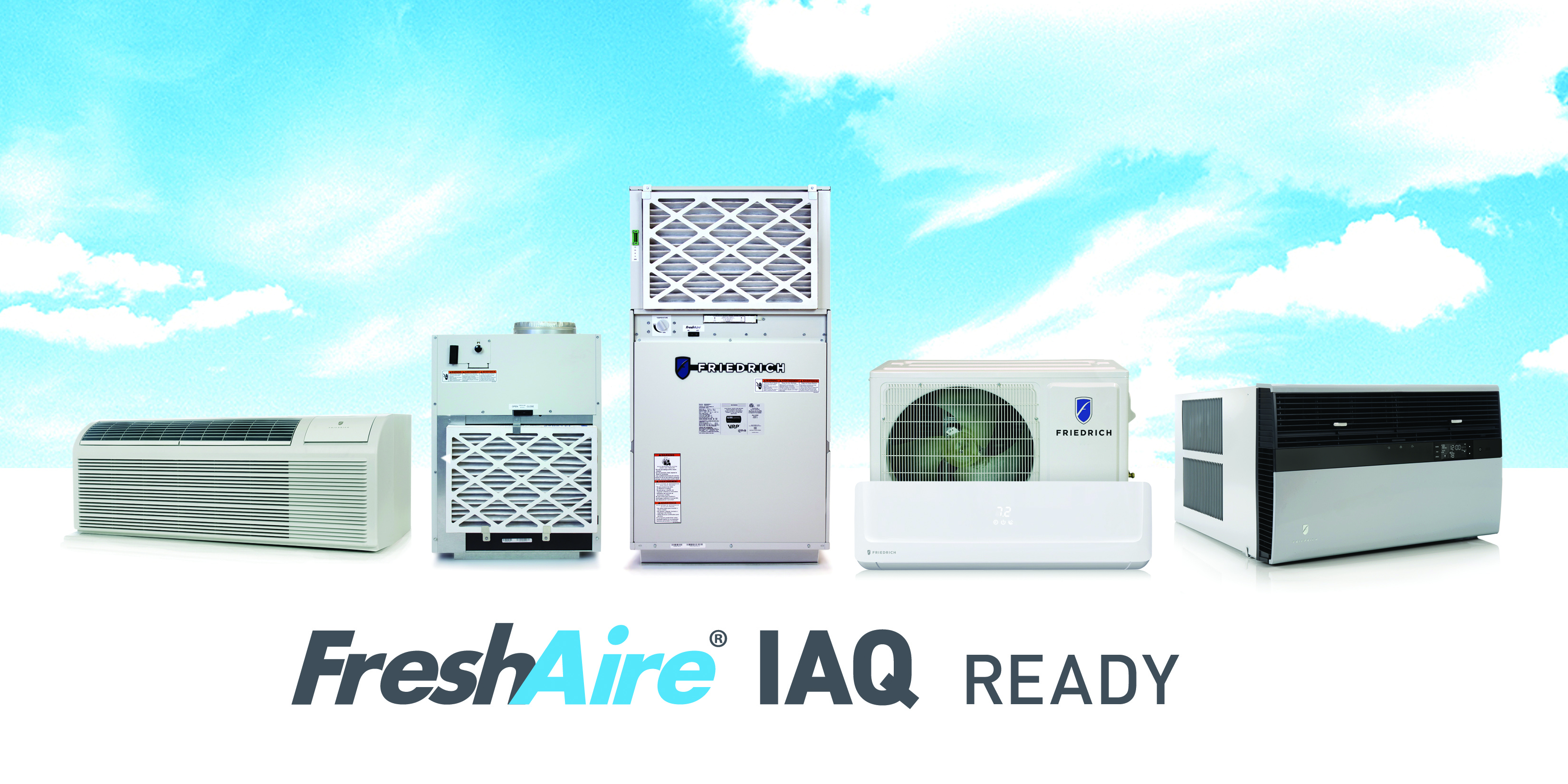 FreshAire IAQ products_blue sky