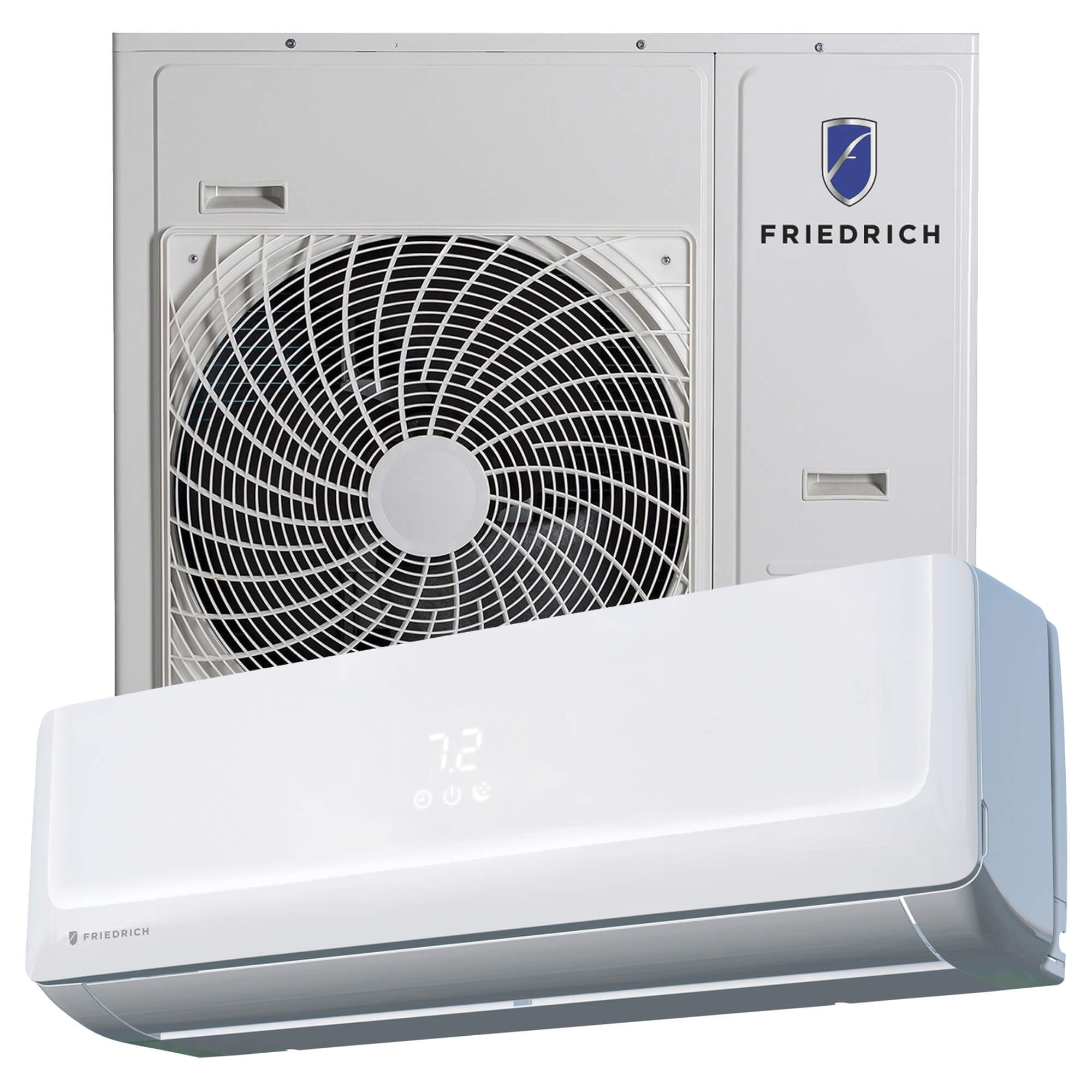 Ductless Multi Zone Floating Air Pro Friedrich